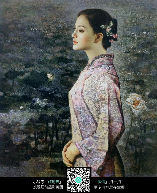 穿旗袍的女人_其他人物图片