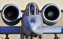 军事飞机特写