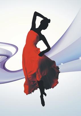 拉丁舞舞蹈人物