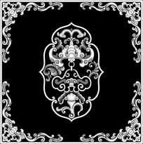 古典中式风格花纹边框图图片