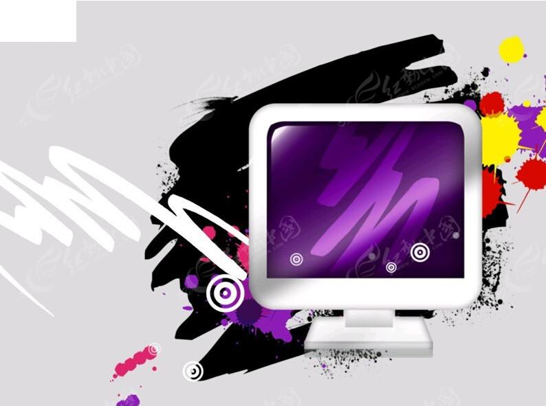 电脑屏幕背景ppt素材免费下载 编号4576104 红动网