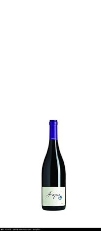 蓝色幻想葡萄酒包装设计