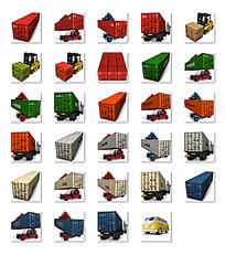 运输车辆卡通图片