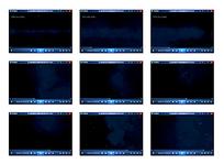 白格黑蓝底气体演示视频素材