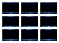 黑色演示视频素材