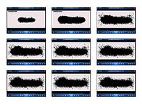 黑色油墨演示视频素材