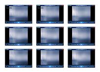 灰蓝色演示视频素材