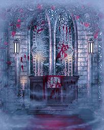 教堂图案摄影背景