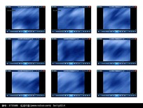 蓝色的底纹演示视频素材
