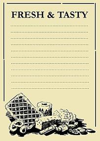 面包插图笔记本