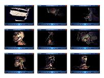 人体头像演示视频素材