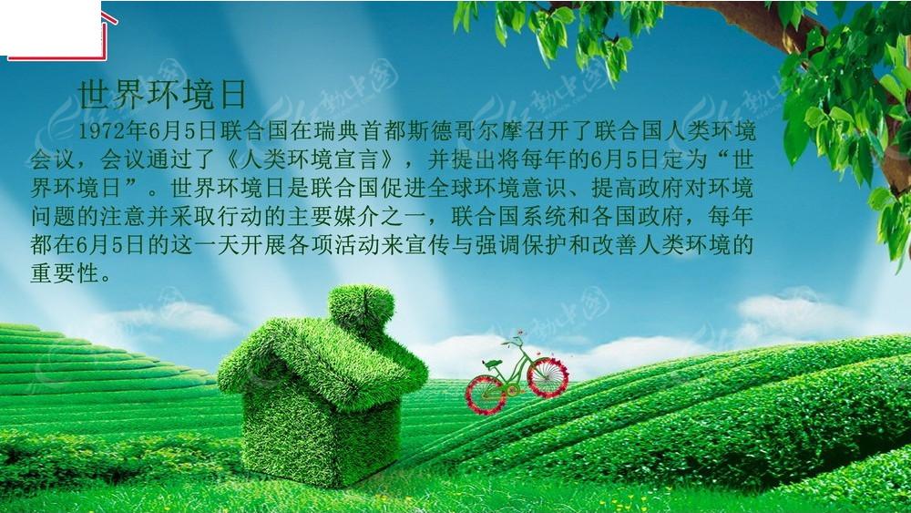 世界环境日公益宣传图片