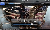 手机视频播放界面