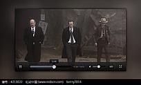 手机视频播放界面图片