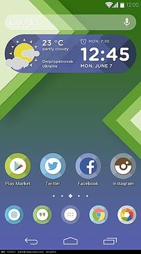 手机桌面界面设计