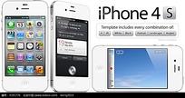 苹果四代界面图标