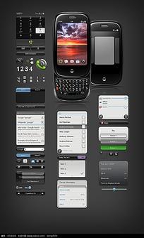 手机常用软件界面设计