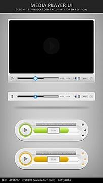 手机视频播放功能界面元素
