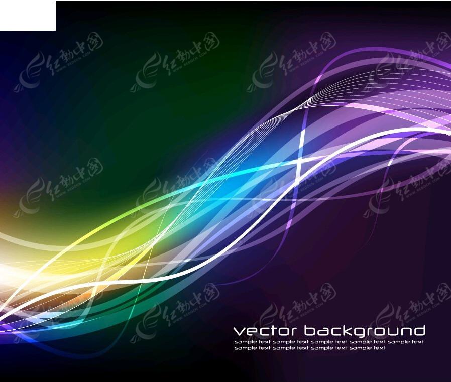 线条光线背景素材