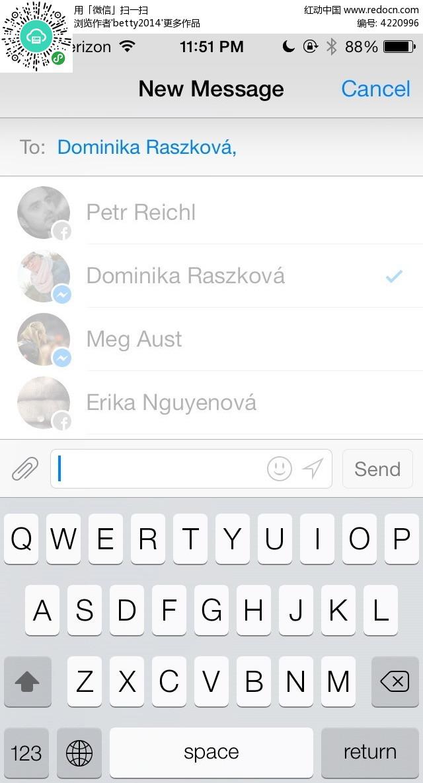 键盘图案手机app界面