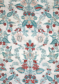 华丽欧式窗帘墙纸织锦缎纹样