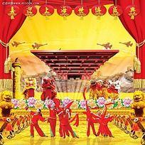 喜迎上海世博会海报设计素材