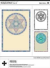 瓷砖花纹矢量素材