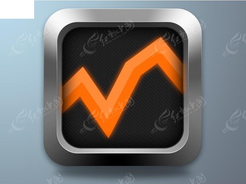 银色边框手机桌面按钮图标psd免费下载_app图标素材