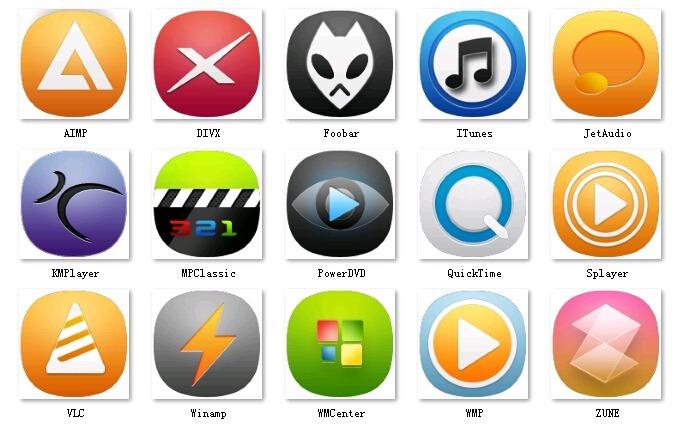 创意手机app图标设计  创意手机app设计 ui设计 youtube in  wifi图片