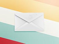 信封图案手机APP界面