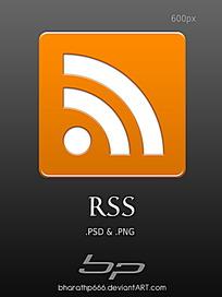 橙色图标手机APP界面