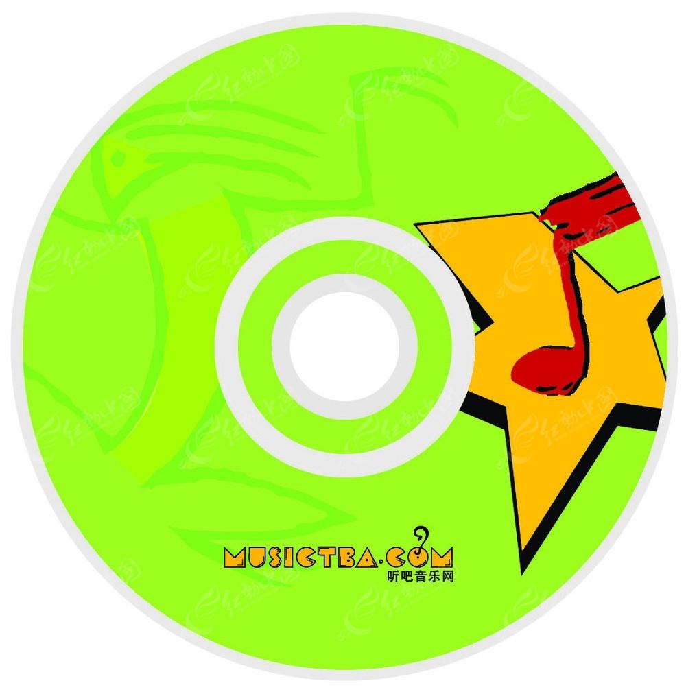 光盘设计psd素材图片