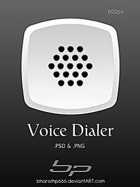 白色图标手机APP界面