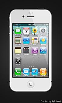创意图标手机APP界面