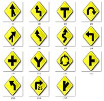 黄色菱形箭头图标设计