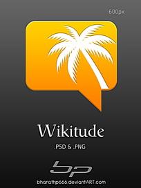 椰树图标手机APP界面