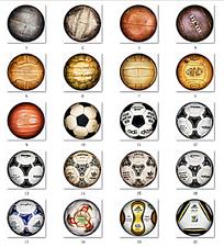 足球图标设计
