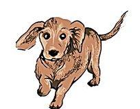 卡通小狗PSD素材