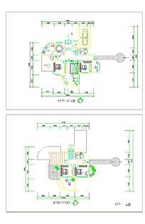 别墅单体平面图设计样式