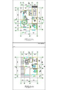 别墅单体设计图CAD