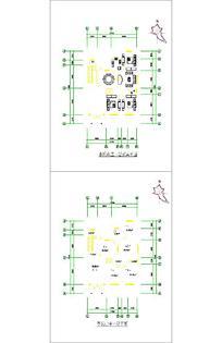 别墅平面设计样式CAD
