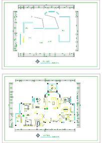 建筑CAD平面图标数据模板素材