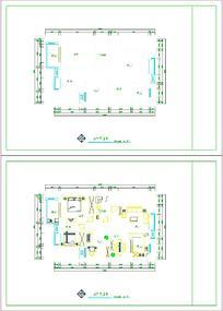 建筑CAD平面图样式素材