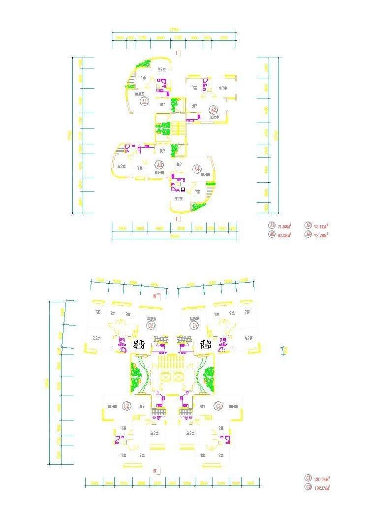 建筑别墅图片v别墅图纸_CAD楼梯壁画单体别墅大全图库图片