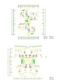 建筑单体别墅设计图纸
