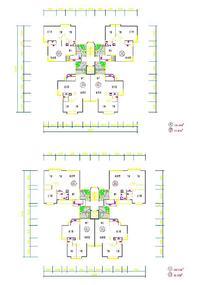 建筑单体平面设计图样式