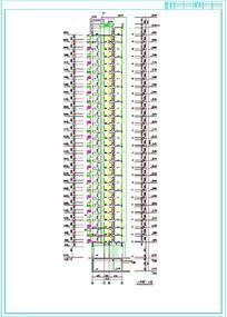 建筑高层剖面图设计样式