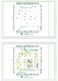 建筑平面CAD平面图