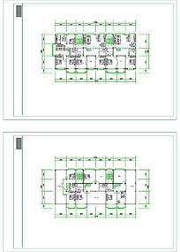 建筑平面CAD图