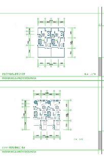 建筑平面设计图样式CAD